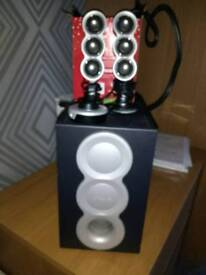 Creative speakers 2.1 for laptop