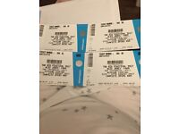 Feastival weekend camping tickets 2 adults and 2 teens