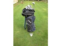 BEN SAYERS GOLF CLUBS IN BAG MENS RIGHT HAND