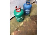 2 calor gas cylinders