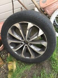 NISSAN QASHQAI 2007-2014 ALLOY WHEEL AND TYRE
