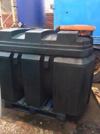 Titan waste oil tank bunded bowser garage farm plant