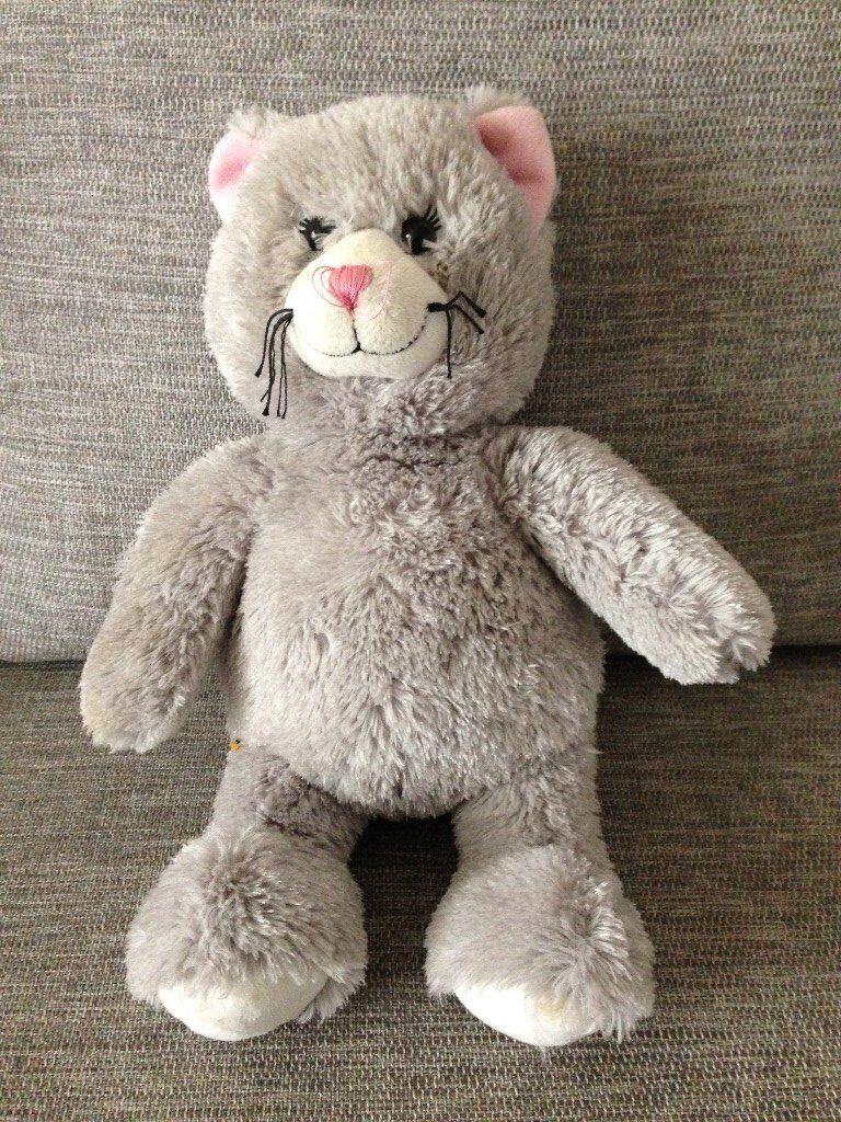 Grey Teddy Bear from Build a Bear