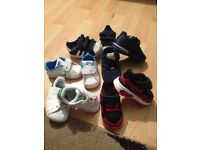 5 pair boys trainers