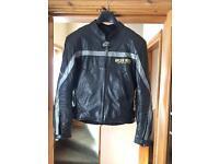 Motorbike leather jacket - ARLEN NESS