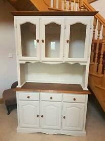 Beautiful oak and cream painted dresser