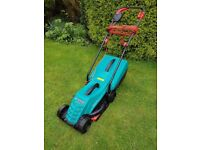 Bosch Rotak 32R electric lawn mower - excellent working condition