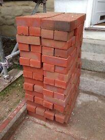 180 NEW red bricks - 'Ibstock Orange Common Clay Bricks'
