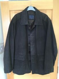 Men's Brushed Leather Jacket