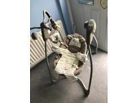 Graco swinging baby chair