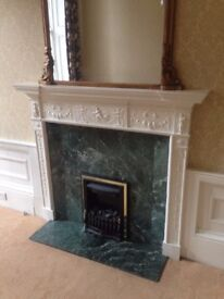 Antique Mantelpiece from Georgian New Town Townhouse