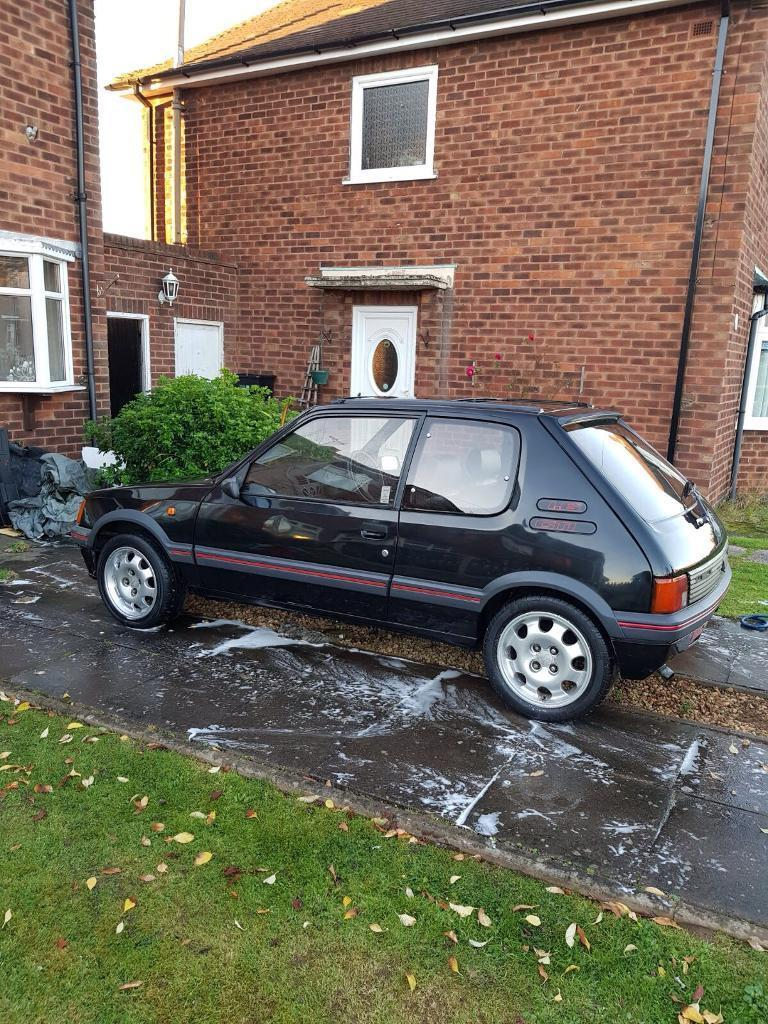 Peugeot 205 gti 1.6 unfinished project