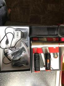 Snap on torch rechargeable