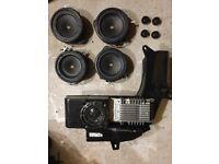 Bose Audi A4 Speakers including Sub & Tweeters