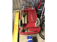Heavy duty board trolley 800 kg load 1190x575x990 mm and pallet truck 1.8m length 2 toness