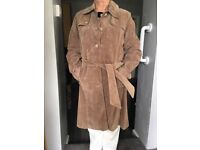 Next Leather Ladies Suede Coat