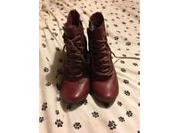 Real 100% genuine Hush puppies red boot heels!