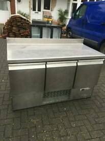Polar commercial pizza topping chiller fully working with guaranty good condition