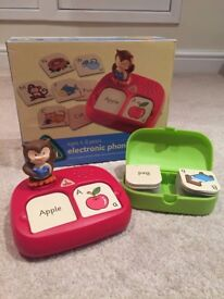 ELC Electronic Phonic Pairs game