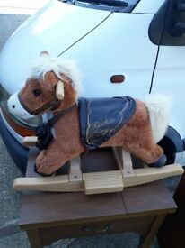 Rocking Pony Horse - children's ride on toy