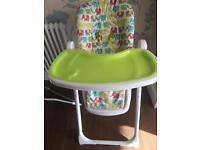 Mothercare elephant design high chair
