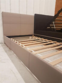 Constance Single Bed Frame - Latte (Please call - Michal 07851770393)