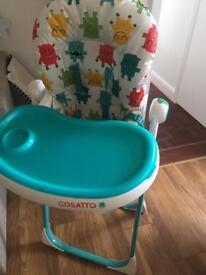 Cosatto high chair good condition