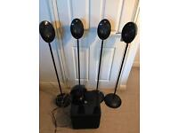 Kef 2005.3 Home Cinema Speakers + Stands