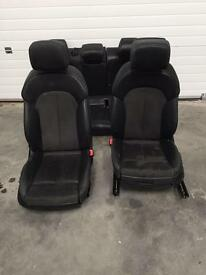 AUDI A7 A6 COMPLETE LEATHER/SUADE INTERIOR WITH DOOR CARDS