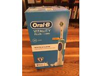 Oral-B Vitality Plus electric toothbrush