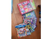 Captain underpants, horrid henry and simpsons collection