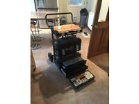 **NEW** Dewalt Tough System Tool Box & Trolley Set
