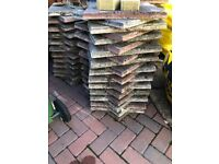 Grey & Red Slabs, 350mm square