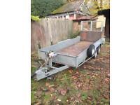 3ton four wheel plant trailer