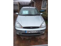 Ford Focus 1600 zetec.well maintained by local garage. Failed mot on brake binding and corrosion.