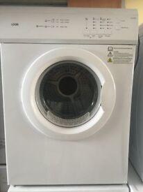 LOGIK LVD7W15 Vented Tumble Dryer - White 7kg load