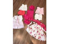 Beautiful Girls Dresses and Outfits 9-12 Months
