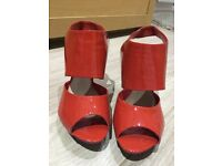 Carvela Orange shoes
