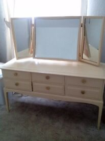 Lovely stag minstrel dressing table. £80. (Need gone asap)