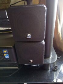 e audio 4 inch duel core speakers (80 watts) music output each in emaculat condition contact Jim.