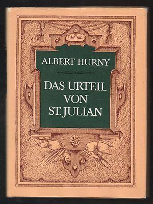 Das Urteil von St. Julian – Albert Hurny & Günther Lück  DDR Jugendbuch mit Inha