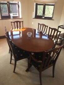 Dining Room Furniture - GPlan Mahogany dining room furniture - Excellent Condition