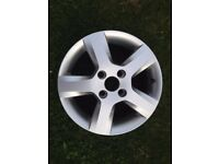 Ford Fiesta/Fusion 2001-2008 Alloy Wheel 15 Inch