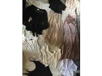 bundle of ladies clothes, Skirts Tops size 6-8 9 items used good condition £15