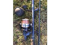 Fishing rod fishing reel