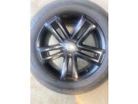 Original VW Amarok wheels and tyres