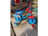 Thomas 1st bike with stabilisers