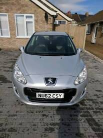Peugeot 308 1.6 hdi 2012 low mileage 1 previous owner very good condition