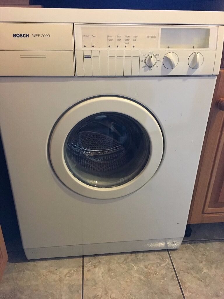 bosch wff2000 washing machine in scunthorpe lincolnshire gumtree. Black Bedroom Furniture Sets. Home Design Ideas