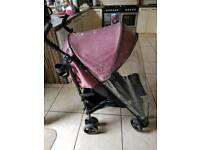 Mamas and papas cruise stroller rose